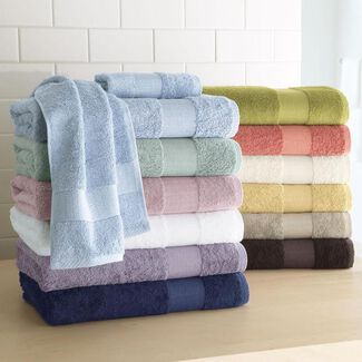 Ultra-Soft Cotton/Bamboo Towels and Washcloths